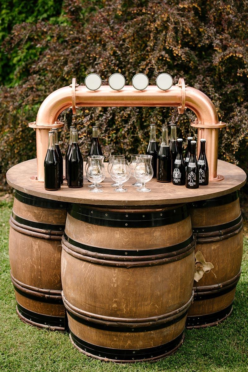 balta palapine alaus stalas 3
